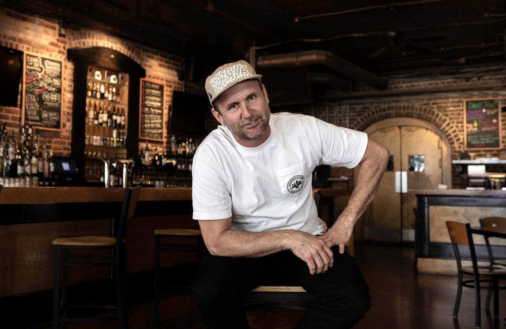 Brian Schaefer, owner of The Bricks in Ybor and Skate Park of Tampa
